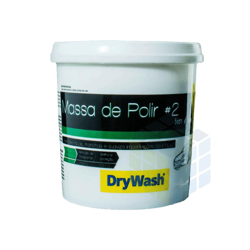 MASSA DE POLIR Nº2 BASE D ´ ÁGUA DryWash 1 Kg