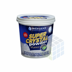 SUPER CRYSTAL POWDER MÁRMORE - GRANA GROSSA - BELLINZONI - 1KG
