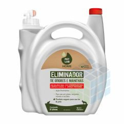 ELIMINADOR DE ODORES E MANCHAS PET - PETLAB - 5L
