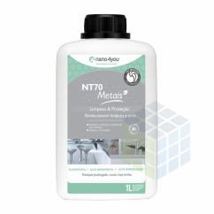 NT70 POLIDOR PARA LIMPAR CROMADO E METAIS - 1000 ml - PERFORMANCE