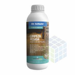 PRODUTO PARA LIMPAR PISO DE MADEIRA LIMPEZA PESADA WOOD FLOOR DEEP CLEAN - DR. SCHUTZ